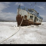 Photos Of Oroumieh Lake That Turned Into Salt